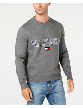 Men's Collegiate Logo Sweatshirt, Created For Macy's by Tommy Hilfiger