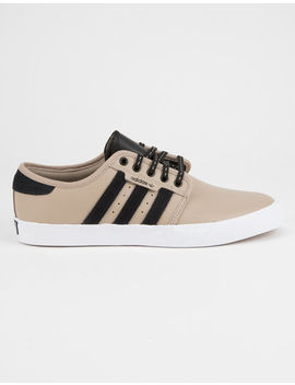 Adidas Seeley Khaki & White Mens Shoes by Adidas