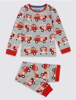 Fire Engine Pyjamas (1 7 Years) by Marks & Spencer