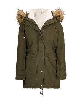 3 In 1 Cotton Anorak Coat by Ricki's