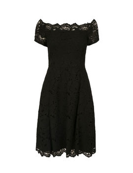 Off The Shoulder Lace Dress by Ricki's
