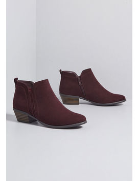 Soulful Stride Ankle Bootie by Modcloth