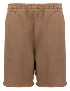 Boxy Distressed Shorts by Yeezy