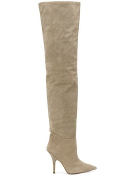Tubular Over The Knee Boots by Yeezy