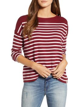 Stripe Tee by Lou & Grey