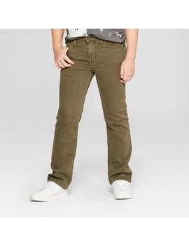 Boys' Denim Moss Jeans   Cat & Jack™ Olive by Cat & Jack™