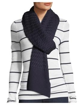 Basket Stitch Merino Wool Scarf by Canada Goose
