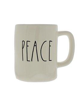 Rae Dunn Magenta Ceramic Coffee Mug Peace by Rae Dunn By Magenta