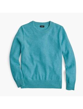 kids-cashmere-crewneck-sweater by jcrew