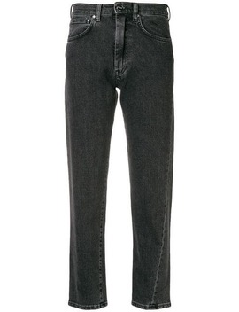Straight Leg Cropped Jeans by Toteme