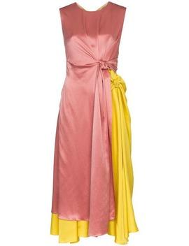 Nyimi Knotted Silk Dress by Roksanda