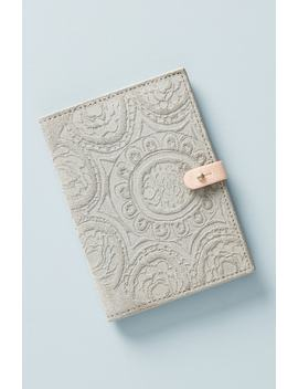 Foxglove Suede Passport Cover by Anthropologie