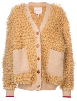 Oversized Textured Cardigan by Roksanda