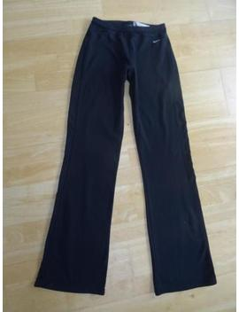 Nike Dri Fit Ladies Black Gym Workout Running Trousers Uk 8   10 Excellent by Ebay Seller