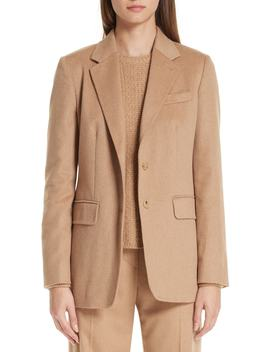 Panteon Camel Hair Jacket by Max Mara