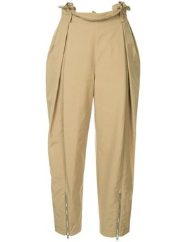 High Waisted Safari Trousers by Alexander Wang