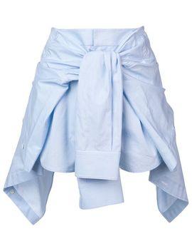 Draped Tie Waist Skirt by Alexander Wang