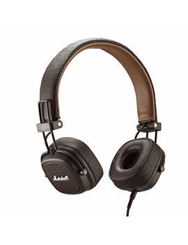 Marshall Major Iii On Ear Headphones, Black (04092182) by Marshall