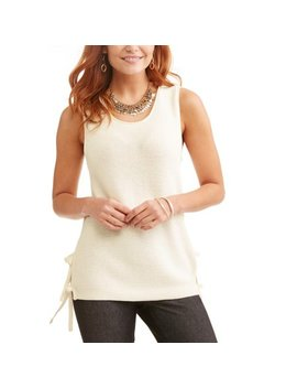Women's Sweater Tank by Time And Tru