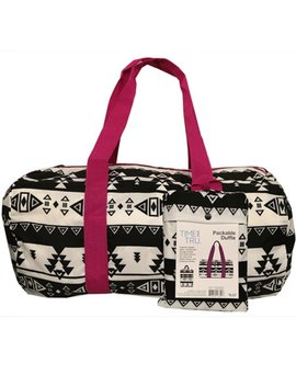 Time And Tru Aztec Packable Duffel Bag by Time And Tru