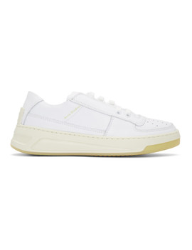 White Steffey Sneakers by Acne Studios