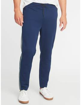 Go Dry Color Block Track Pants For Men by Old Navy