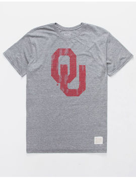 Retro Brand University Of Oklahoma Mens T Shirt by Retro Brand