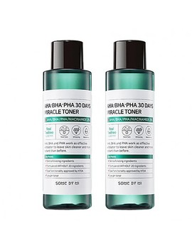 [Some By Mi] Aha Bha Pha 30 Days Miracle Toner 2ea by Style Korean