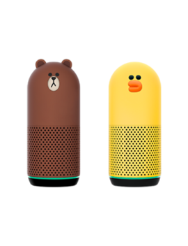 [Line Friends] Naver Clova Brown, Sally Bluetooth Speaker (Genuine, Korea Made) by Line Friends