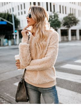 Luscious Pullover   Beige by Vici