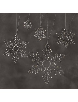 Starry Light Snowflake by Restoration Hardware