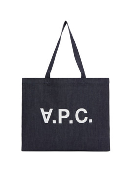 Indigo Denim Daniel Tote by A.P.C.