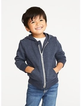 Zip Front Hoodie For Toddler Boys by Old Navy