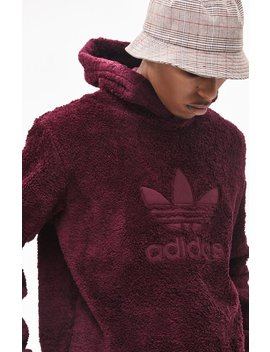 Adidas Winterized Plush Pullover Hoodie by Pacsun