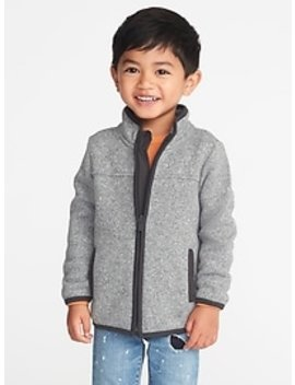 Sweater Fleece Jacket For Toddler Boys by Old Navy