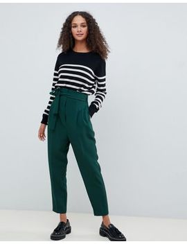 Asos Design Tapered High Waist Balloon Tapered Pants by Asos Design