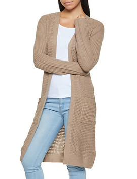 Waffle Knit Duster by Rainbow