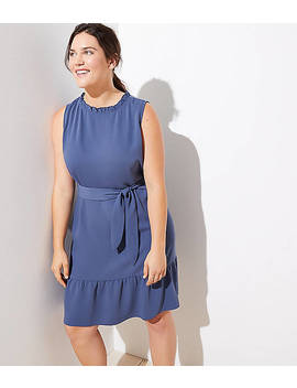 Loft Plus Ruffle Flounce Dress by Loft