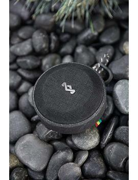 House Of Marley, No Bounds Outdoor Speaker | 10 Hour Battery, Water & Dust Proof (Ip67), Buoyant, Carabiner, Quick Charge, Charging Cable, Aux In, Wireless Dual Speaker Pairing, Speaker Phone | Black by House Of Marley