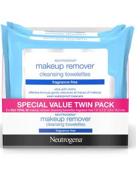 Fragrance Free Wipes Twin Pack by Neutrogena