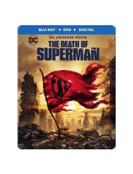Dcu: The Death Of Superman (Blu Ray + Dvd + Digital) Steelbook (Target Exclusive) by Target