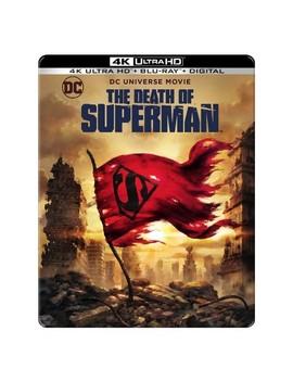 Dcu: Death Of Superman Target Exclusive Steelbook (4 K/Uhd) by Target