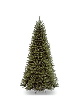 National Tree 9 Foot North Valley Spruce Tree, Hinged (Nrv7 500 90) by National Tree Company