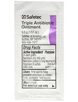 Triple Antibiotic Ointment .5gr Packets (Box Of 144) by First Aid