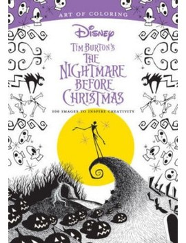 Tim Burton's The Nightmare Before Christmas : 100 Images To Inspire Creativity (Paperback) by Target
