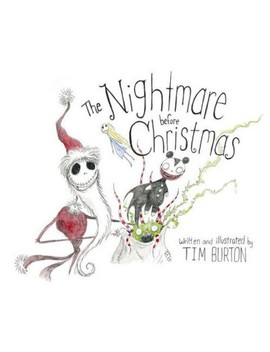 Nightmare Before Christmas (Hardcover) (Tim Burton) by Target