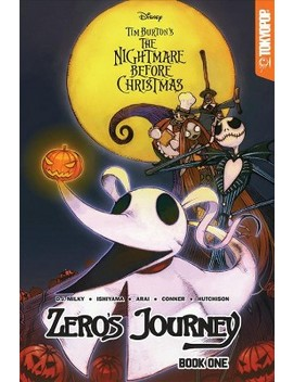 tim-burtons-the-nightmare-before-christmas-1-:-zeros-journey----by-d-j-milky-(paperback) by target