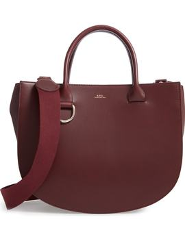 Sac Marion Leather Tote by A.P.C.