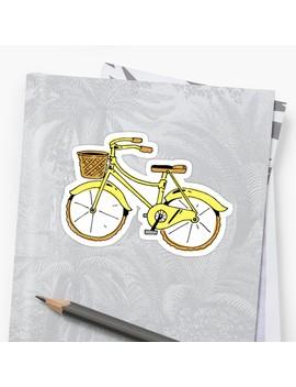 Bike Yellow by Noah Denten
