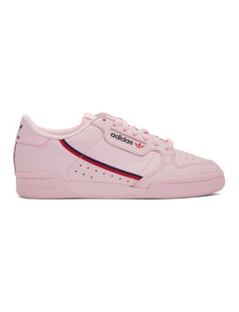 Pink Continental 80 Sneakers by Adidas Originals